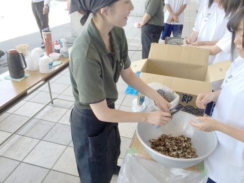 職業体験ボランティアで鶴岡中央高等学校さんへ行ってきました!