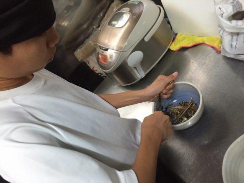 酒田市内の中学生が酒田店に職業体験に来てくれました。