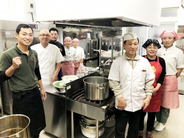 ラーメン給食ボランティアで報恩会保育園に伺いました!『酒田市麺類食堂組合』