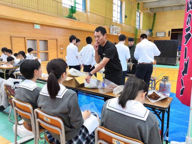 職業体験ボランティアで酒田南高等学校さんへ行ってきました!