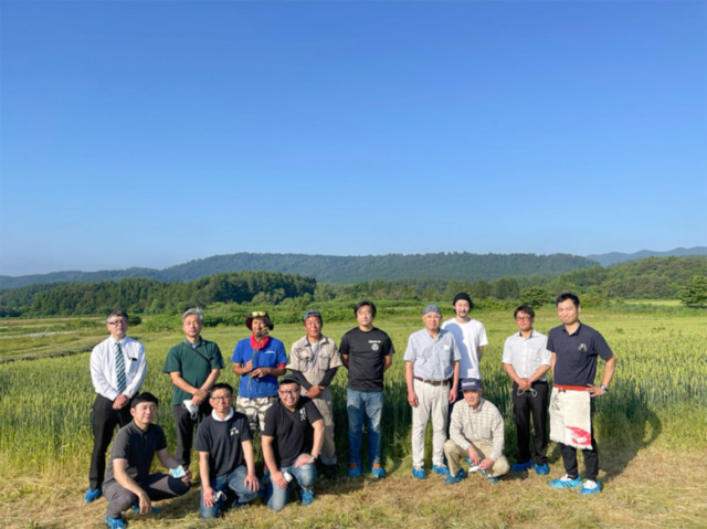 小麦畑の見学会を開催 生産者さんと消費者の想いが重なる【article no.32~34】